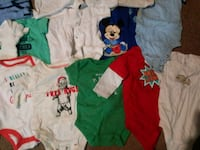 baby's assorted clothes Mississauga, L5H 1H1