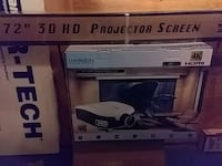 3D ready projector and screens Anchorage, 99508