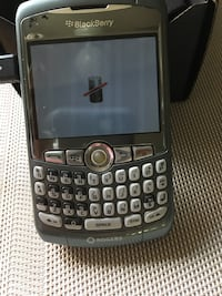 Blackberry 8310, USB cord, no battery - $25 as is.  Mississauga Mississauga, L5L 5P5