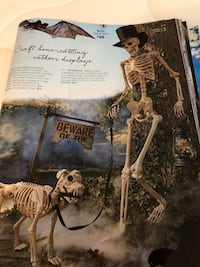 New Skelton man and dog (grandinroad) sells for $129 but sold out.   Vienna, 22180