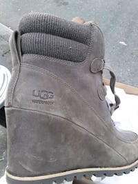 UGG Australia Waterproof Wedge Booties New York, 11249