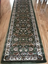 Brand new Hallway Runner Carpet Size 3x10 nice green rug Persian style