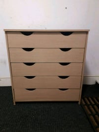Pagnell 5 drawer chest brand new  Merseyside, L4 0SJ