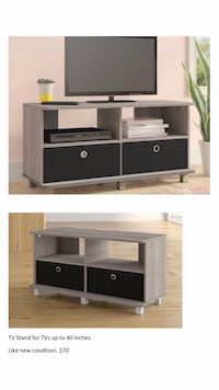 "Warm grey TV stand for TVs up to 40"" Washington, 20007"