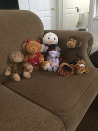 Assorted stuffed animals Bolton, L7E 1X4