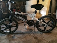 white and black Mongoose BMX bike Kokomo, 46901