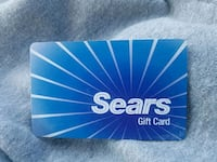 Sears/Kmart gift card ($10) Front Royal, 22630