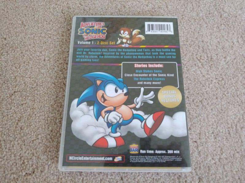 Adventures of Sonic the Hedgehog Volume 1 DVD Set edb266a3-789a-46f6-8735-075247adcf95