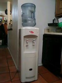 white hot and cold water dispenser 1467 mi