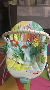 baby's green and yellow bouncer Surrey, V3T 0C5