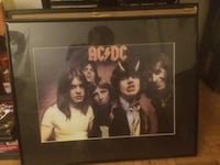 AC/DC Band Photo Painting (Framed) Burlington, L7S 1S2