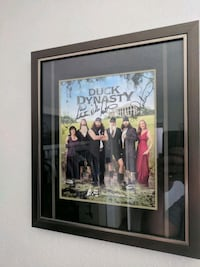 Duck dynasty autographed photo