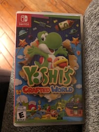 Yoshi crafted world Nintendo switch