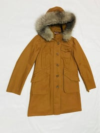 Brown button-up parka jacket New York, 10463