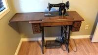 Black and brown treadle sewing machine Calgary, T1Y 7C4