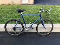 blue and black road bike Schenectady, 12308