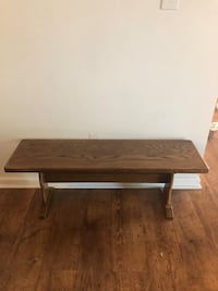 Wooden bench...great for entry way Lake View, 14085
