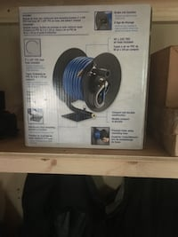 50 foot air hose and reel  brand new still in the box 160    Sherwood Park, T8A 0N1