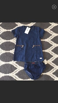 NEW 7 For All Mankind Dress (6/9mo) Tustin, 92780