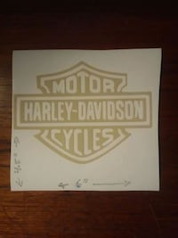 "6"" Harley Davidson Vinyl Graphic Summerfield, 34491"