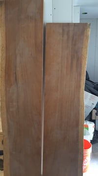 Brown wooden 2-door wardrobe Toronto, M5M 1A4