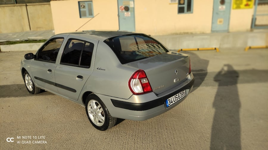 2006 Renault Clio AUTHENTIQUE 1.5 DCI ABS 3