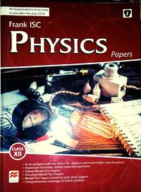 Frank ISC Physics test papers for class 12 Howrah, 711102