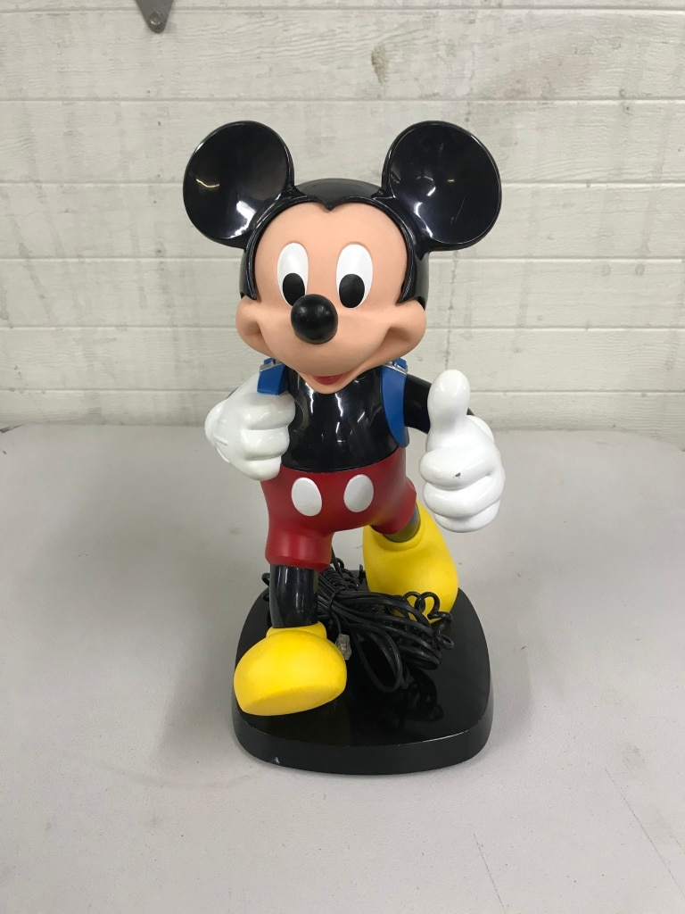 Photo Mickey Mouse Backpack Phone