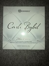Bh Cosmetics Carli Bybel Deluxe Edition eyeshadow and highlighter Mississauga