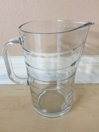 "Heavy Thick Glass Pitching Mug IKEA Made In Italy 7"" Port Saint Lucie, 34953"