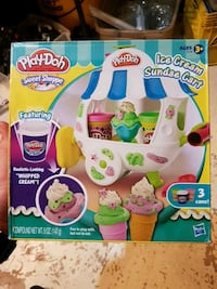 Play-Doh Ice Cream Sundae Cart (new) Welland, L3C 6J6