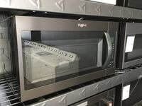 silver Whirlpool countertop microwave St. Charles, 63303