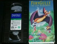 "[""Fern Gully The Last Rainforest""] VHS Union City, 94587"