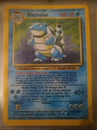 Blastoise Pokemon card Fairfax, 22032