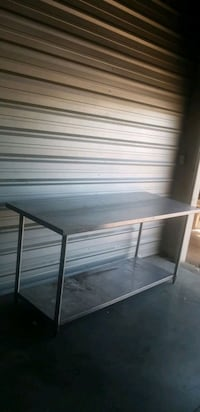 6ft ss comerical table .used . Calgary, T2A 5R5