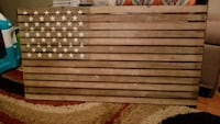 Rustic American Flag Decor Springfield, 22153