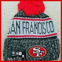 AUTHENTIC NFL FOOTBALL WINTER BEANIE HAT.
