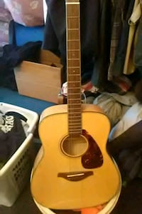 yellow and black acoustic guitar Frederick, 21701