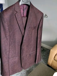 Red Versace sample size suit limited edition Mississauga
