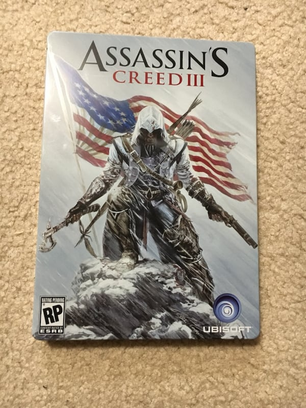 Assassins creed III (3) steelbook case RARE!!! 5cb201ef-1f5d-4cfb-b163-ccc980b68863
