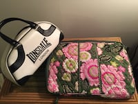 Vera Bradley laptop case and L handbag - both in excellent condition Washington, 20009