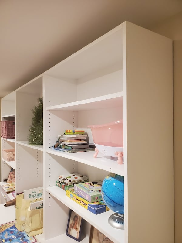 White Shelving 1