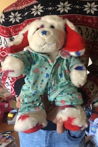 Build a Bear Fourth of July Dog Baby Clothes