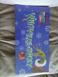 BRAND NEW THE GRINCH WHOVILLE-OPOLY GAME Pickering, L1V 3V7