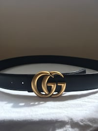 Matte gold on black Gucci Rep Belt  Mississauga, L5N 7G3