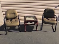 Two chairs and table Turlock, 95380