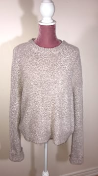 H&M pink knit sweater Vaughan, L6A 3Y9
