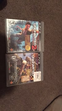 two assorted Sony PS3 game cases Fort Atkinson, 53538