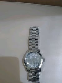 round silver-colored chronograph watch with link bracelet Sunnyvale, 94087
