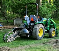 Contracting trenching services Garnet Valley
